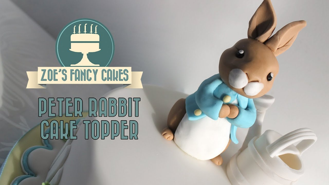 Rabbit Cake Topper Uk