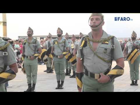 Pasacalles de la Legión en Ceuta