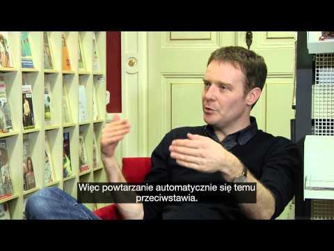 Tom McCarthy - Writers in Motion  - wizualna biblioteka pisarzy