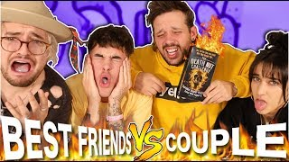 THE DEATH NUT CHALLENGE (BEST FRIENDS vs COUPLE)