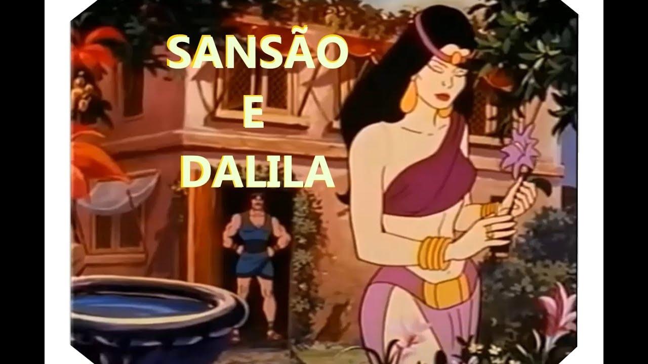 Sansao E Dalila Desenho Animado Youtube
