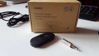 Test du Récepteur Bluetooth 4.1 d'Aukey