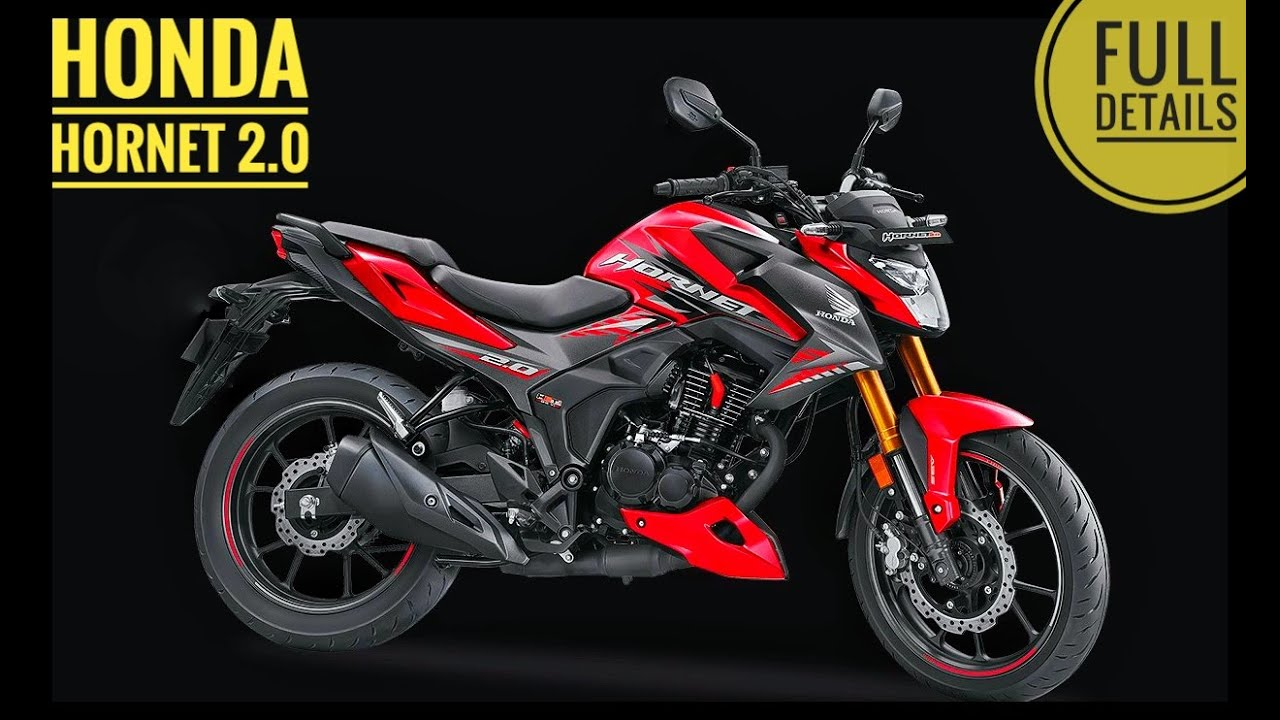 Honda Hornet 2.0 | Full Details | Price and Specifications..