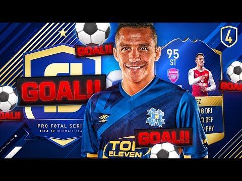 PRO F8TAL SANCHEZ | ALEXIS GOALS GALORE! | FUT 17