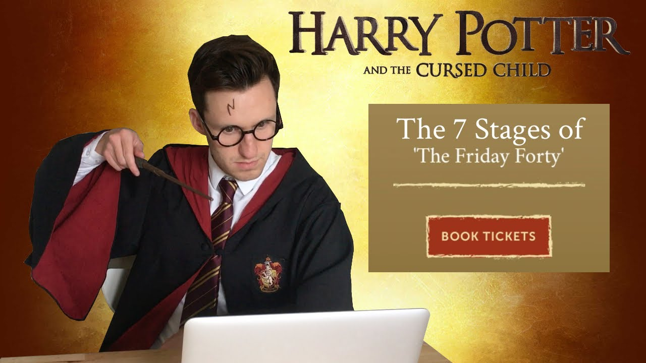 The 7 Stages Of Friday Forty Harry Potter And Cursed Child