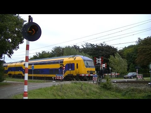 Spoorwegovergang Zegge // Dutch railroad crossing