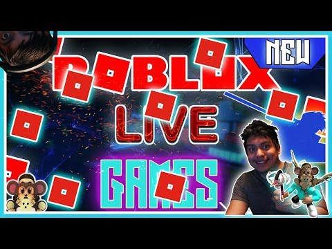 ROBLOX LIVE STREAM - BIG ROBUX GIVEAWAY TONIGHT  -JOIN NO CLICK BATE  ! #!!#211