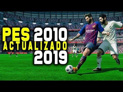 INCREÍBLE PES 2010 ACTUALIZADO AL 2019 !!!