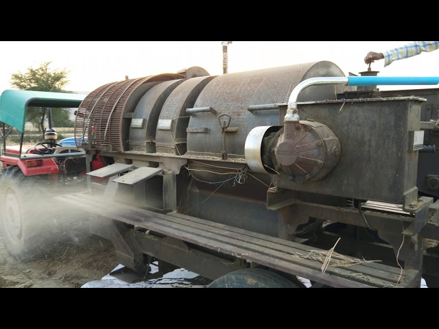 Double Fan Cutter Thresher With Side