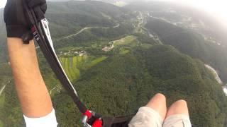 Paragliding, S Korea--Yangpyeong Power Line Landing