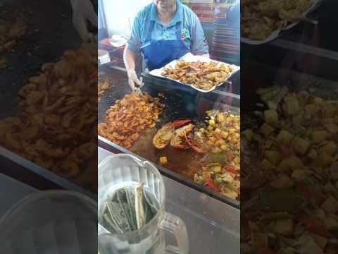 Fish Market In Ports Of Call San Pedro California