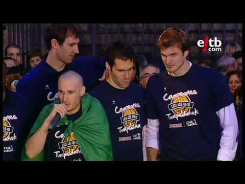 Ospakizuna, Baskonia ACB liga txapeldun 2010. Celebración Baskonia Virgen Blanca 2010