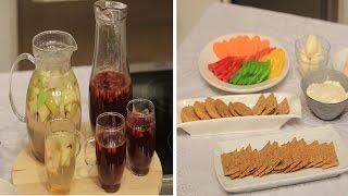 شرائح الخبز المشبعة جدا - كمبوت التفاح بالقرفة - مشروب السايدر      حلو و حادق حلقة كاملة