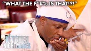 Chefs Spit Out Their Own Food | Kitchen Nightmares