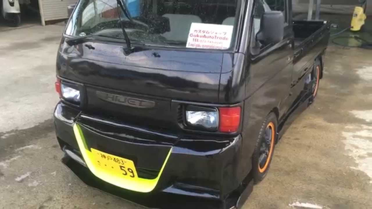 軽トラおやじ ダイハツ ハイゼットトラック カスタム Mスポ初号機 Daihatsu Hijittocustom M