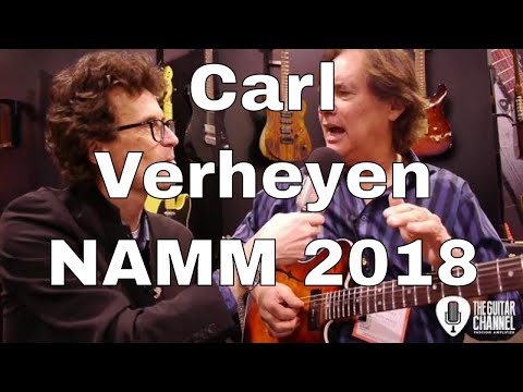 Carl Verheyen interview - NAMM 2018