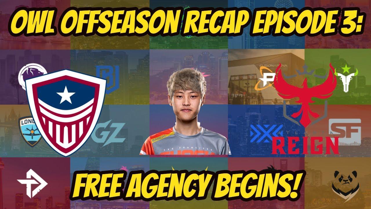 Free Agency Begins! OWL Season 4 Offseason Recap Episode 3