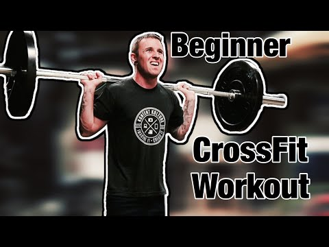 CrossFit Workout for Beginners | Day 1