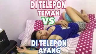 DITELPON TEMAN VS DITELPON AYANK
