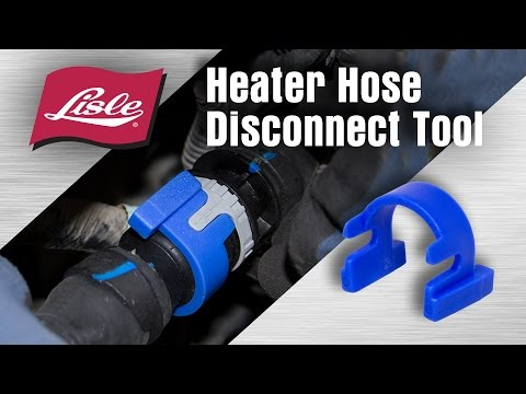 Lisle 39190 Heater Hose Disconnect for GM
