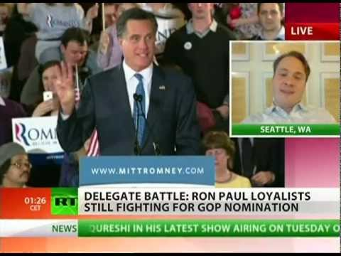 Mitt Romney threatened by Ron Paul