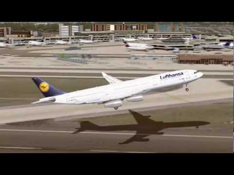 FS2004 - World Cities Episode 1: The Airbus A340