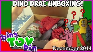 Dinosaur Dracula Fun Pack UNBOXING - Holiday Edition! - Dec. 2014! by Bin