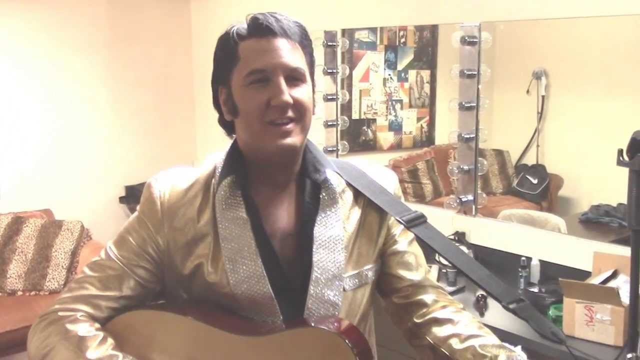 """Becoming """"Elvis"""" with Mark Anthony - YouTube"""