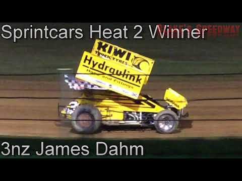 Kihikihi Speedway -Andrew Edwards Memorial Sprintcars - 21/4/2018