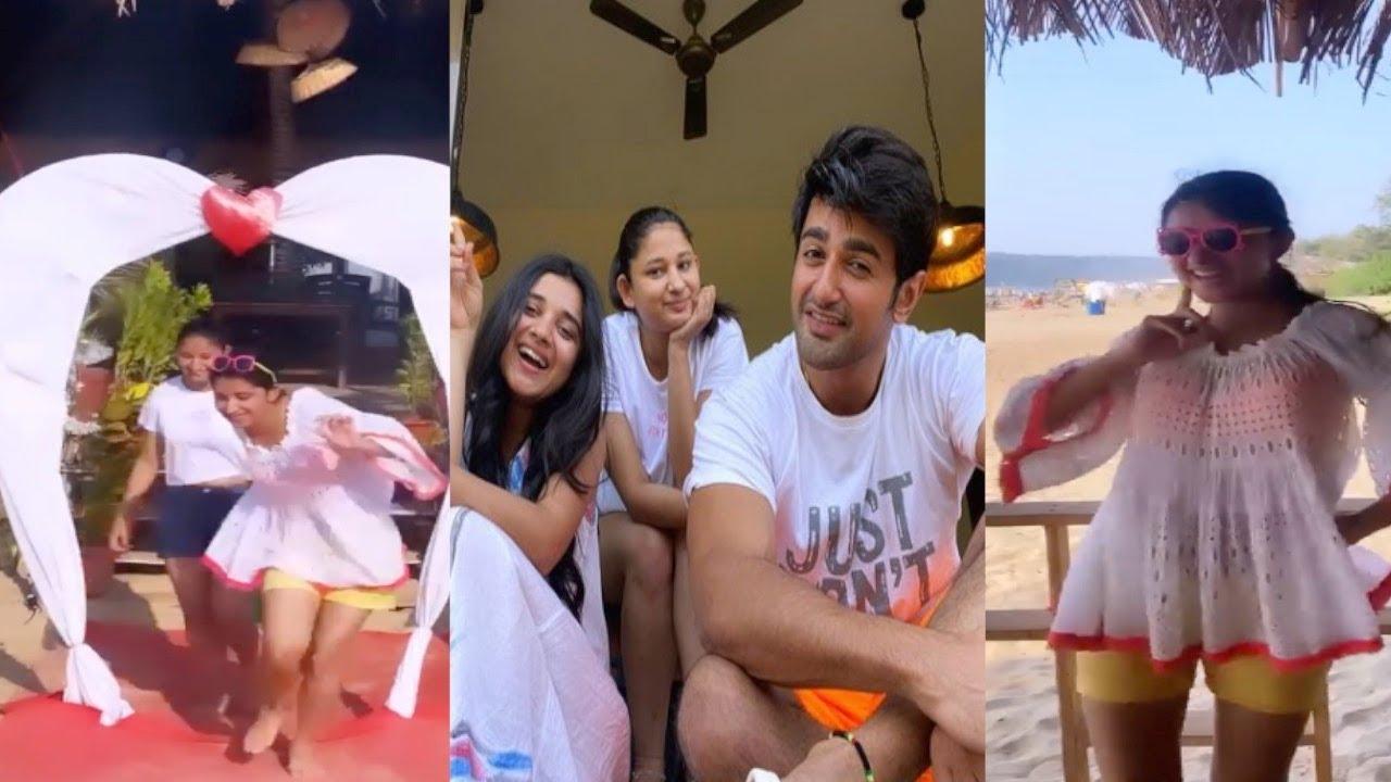 Download Kanika Mann aka Guddan & Nishant Malkani Enjoy Vacation in Goa Beach