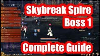 [B&S] Skybreak Spire Boss 1 Complete Guide