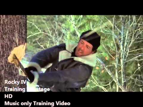 Rocky 4 Training Montage HD Music Only