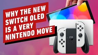 The Switch OLED May Not be a Switch Pro, But it's a Very Nintendo Move