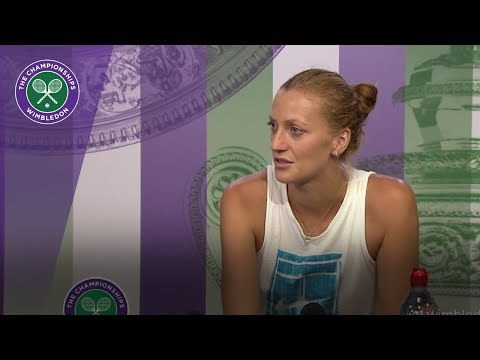 Petra Kvitova - 'I was fighting with myself' | Wimbledon 2018