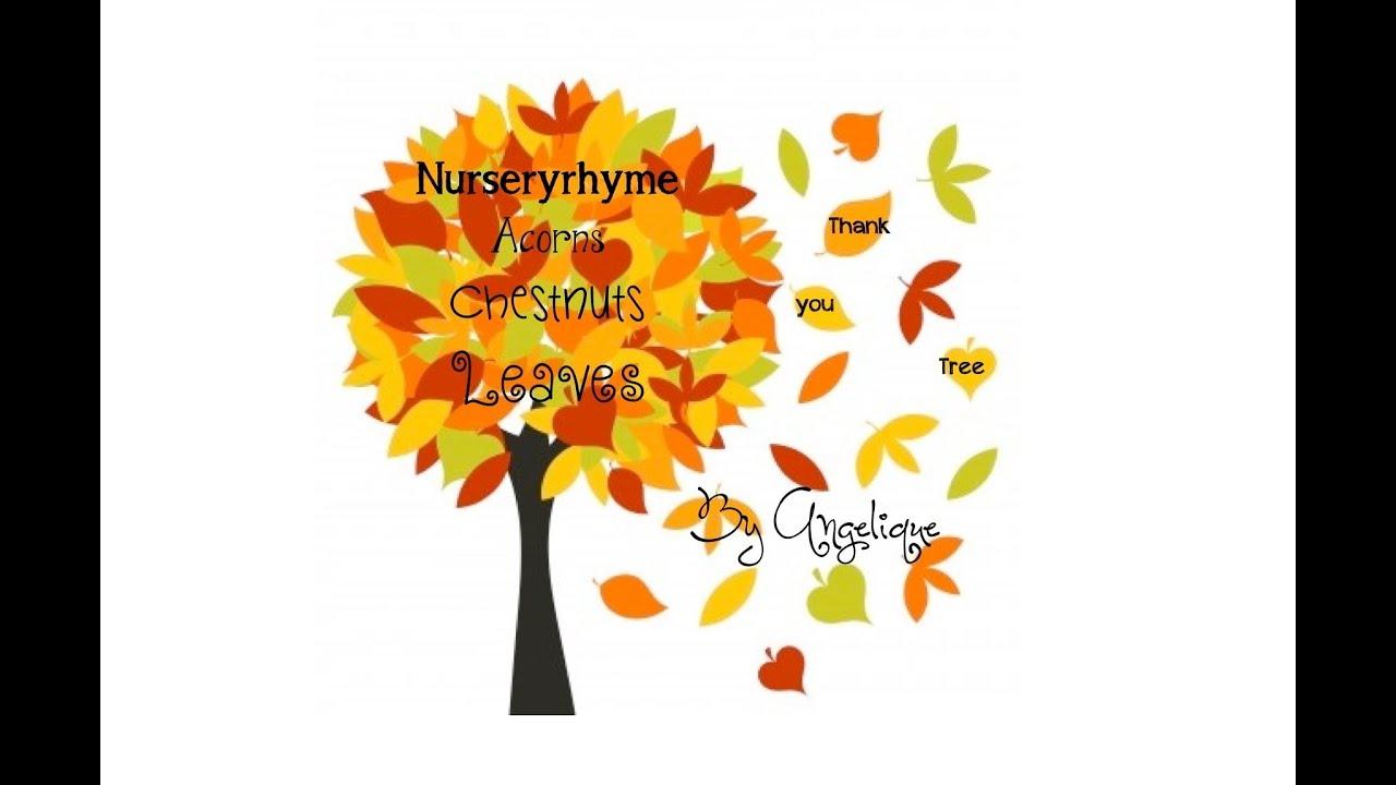 Bien connu Canzone 'Albero d'autunno / 'Autumn Tree' - Inglese per bambini  JM79