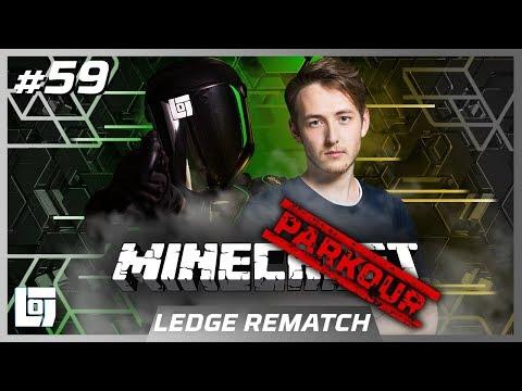 MINECRAFT PARKOUR Jeremy vs. LEDGE   LEDGE REMATCH   LOGS2 #59