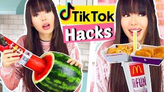 Wir testen Virale TIKTOK Life Hacks 😱 Schock!! | ViktoriaSarina