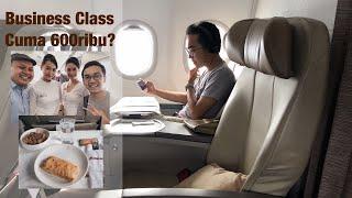 Business Class Termurah! | Batik Air ID8710 Jakarta - Lampung w/ ikhwanhidayat