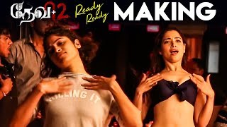 Devi 2 - Ready Ready Video Song Making | Prabhu Deva, Tamannaah | Vijay | Sam C S