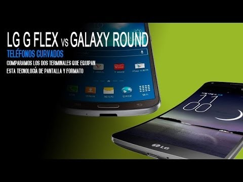 Samsung Galaxy Round vs LG G Flex, comparativa