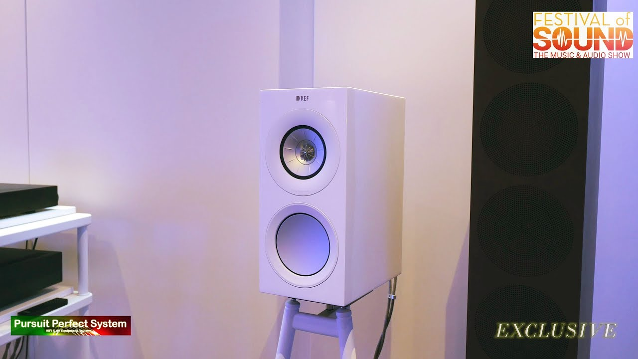 KEF NEW R SERIES Speakers detailed looked at @ Festival of Sound 2018