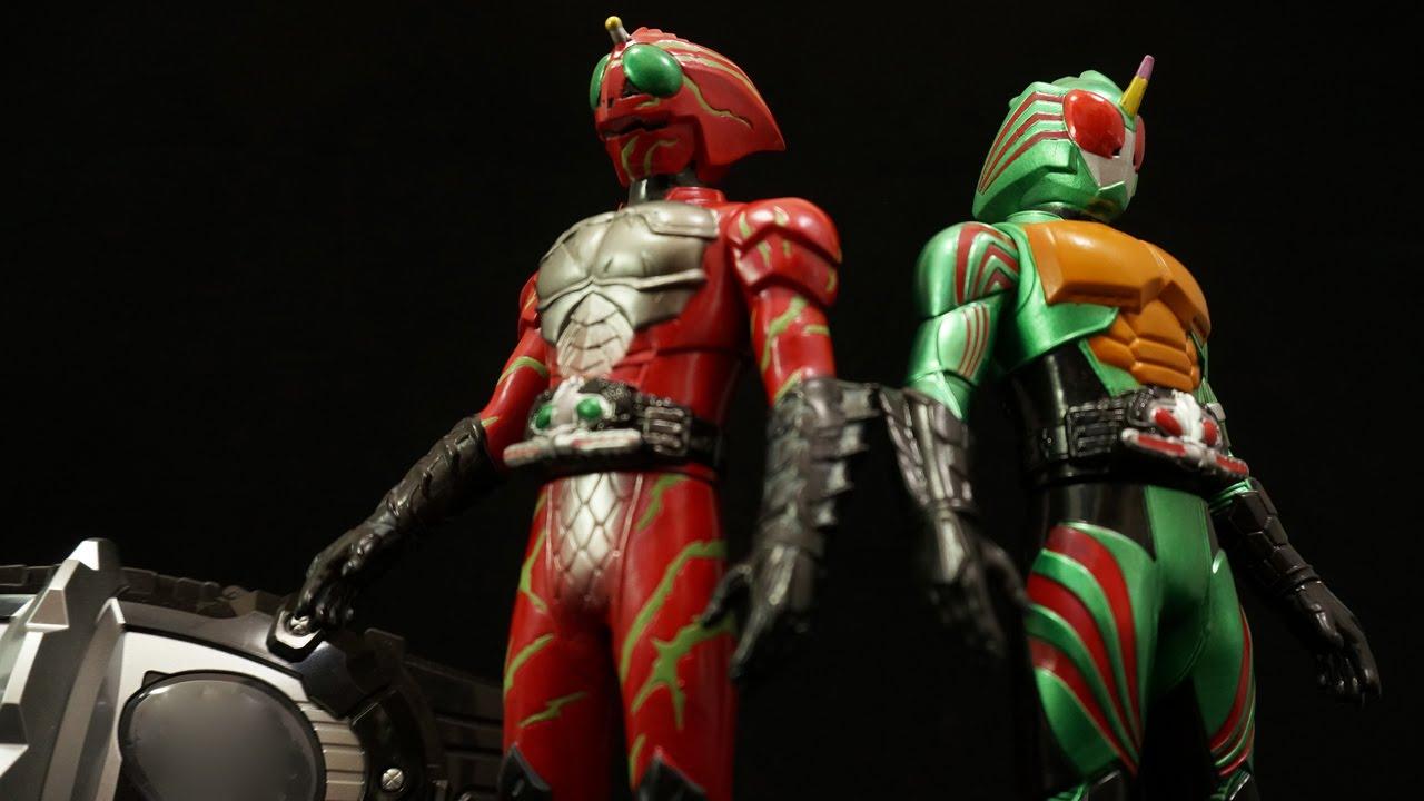 ライダーヒーローシリーズEX 仮面ライダーアマゾンズセット アマゾンズアルファ アマゾンズオメガ