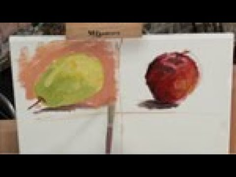 Apples To Pears Travel Water Colour Painting Set On The Go In A Tin