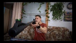 Обзор и стрельба из пневматики Crosman Fury NP