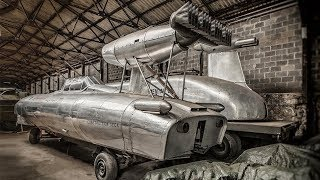 12 Most UNIQUE Abandoned TECHNOLOGY And VEHICLES