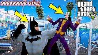 BATMAN OLUYORUZ VE SPOR SALONUNDA VÜCUT GELİŞTİRİYORUZ!(DEV OLDUK!) - GTA 5