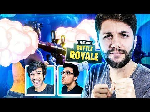 O MELHOR JOGADOR DE BAZUCA do Fortnite: Battle Royale ft Gelli Clash e DidiGPX