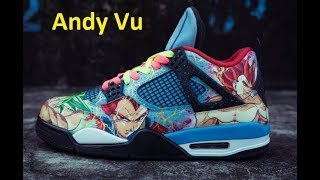 World Craziest Dragon Ball Custom Sneaker - Đôi Jordan Custom Dragon Ball Đẹp Nhất Việt Nam