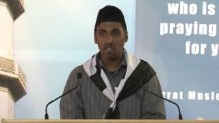 28th Annual National Ijtima   Hazoor(aa) Address Read by Sadr Majlis MKAC
