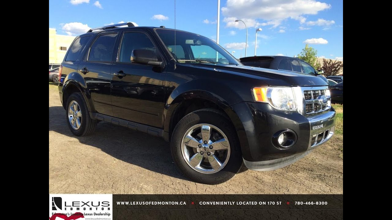 2011 ford escape limited maintenance schedule